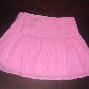 Vineyard Vine's Pink Linen Skirt